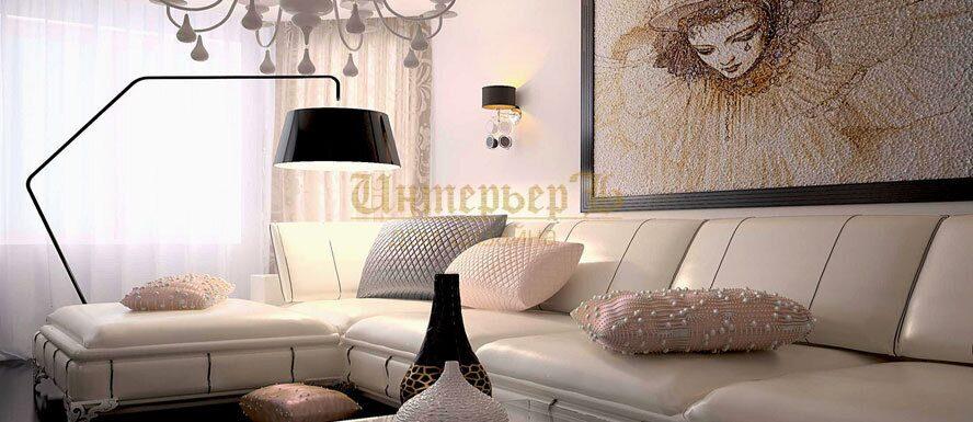Французский дизайн интерьера квартиры