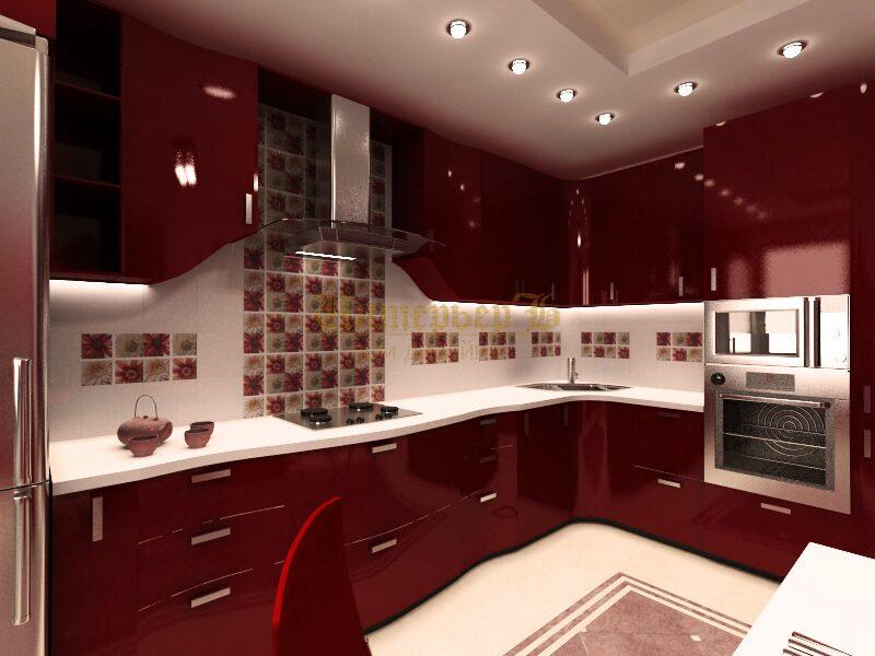 Дизайн кухни 17 кв