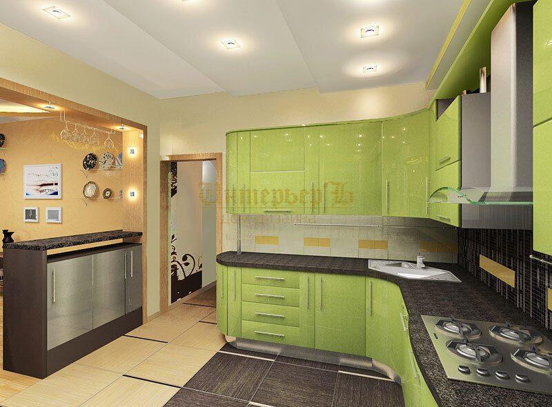 Современная классика дизайн кухни